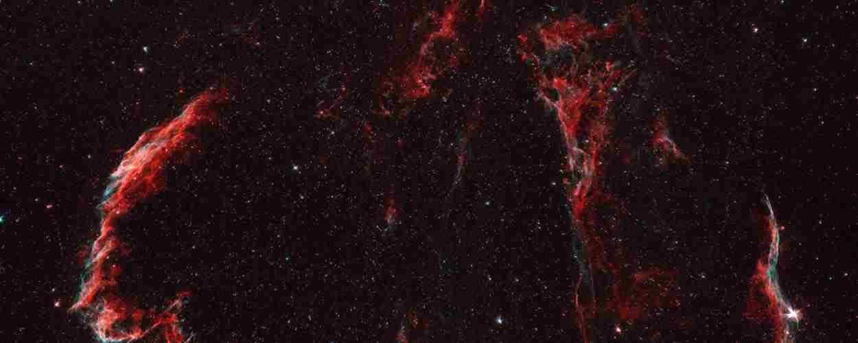 La nebulosa del Velo en Cisne