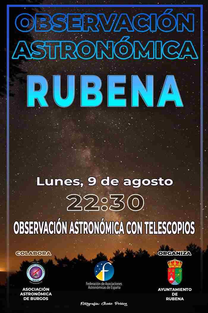 ACTIVIDADES DE VERANO (ASTROBURGOS) - RUBENA (BURGOS)